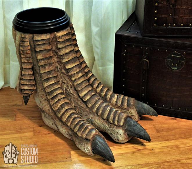 dinosaur-foot-trash-can-waste-basket-3