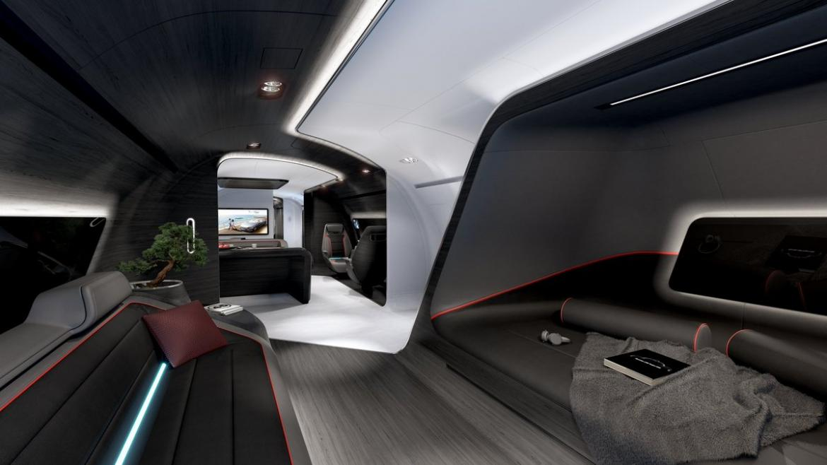 Lufthansa Has Designed A Luxury Private Jet Cabin Inspired
