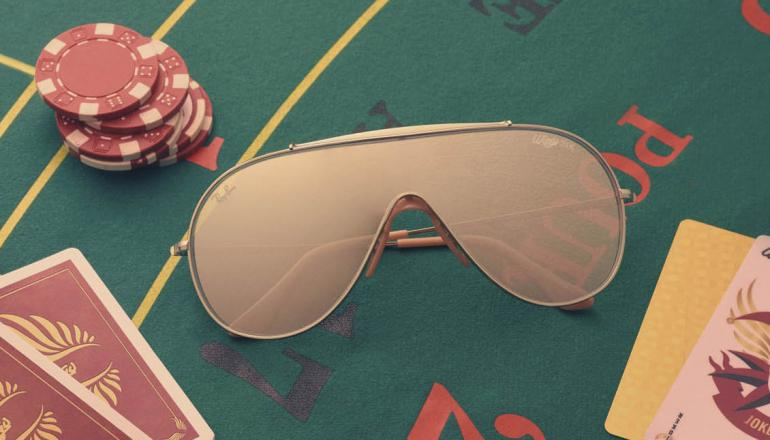 d051c4f8a7fe The luxe Ray Bans also come with their own official  Run for Gold  trailer  that shows the prodigy losing all his belonging to a gambler