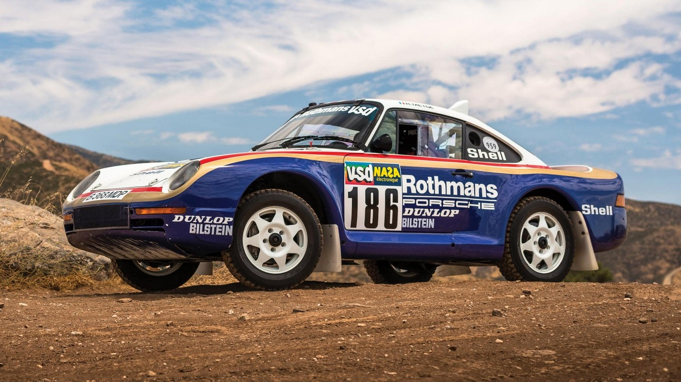 this incredibly rare paris dakar porsche 959 will be the first of its kind ever to be auctioned. Black Bedroom Furniture Sets. Home Design Ideas