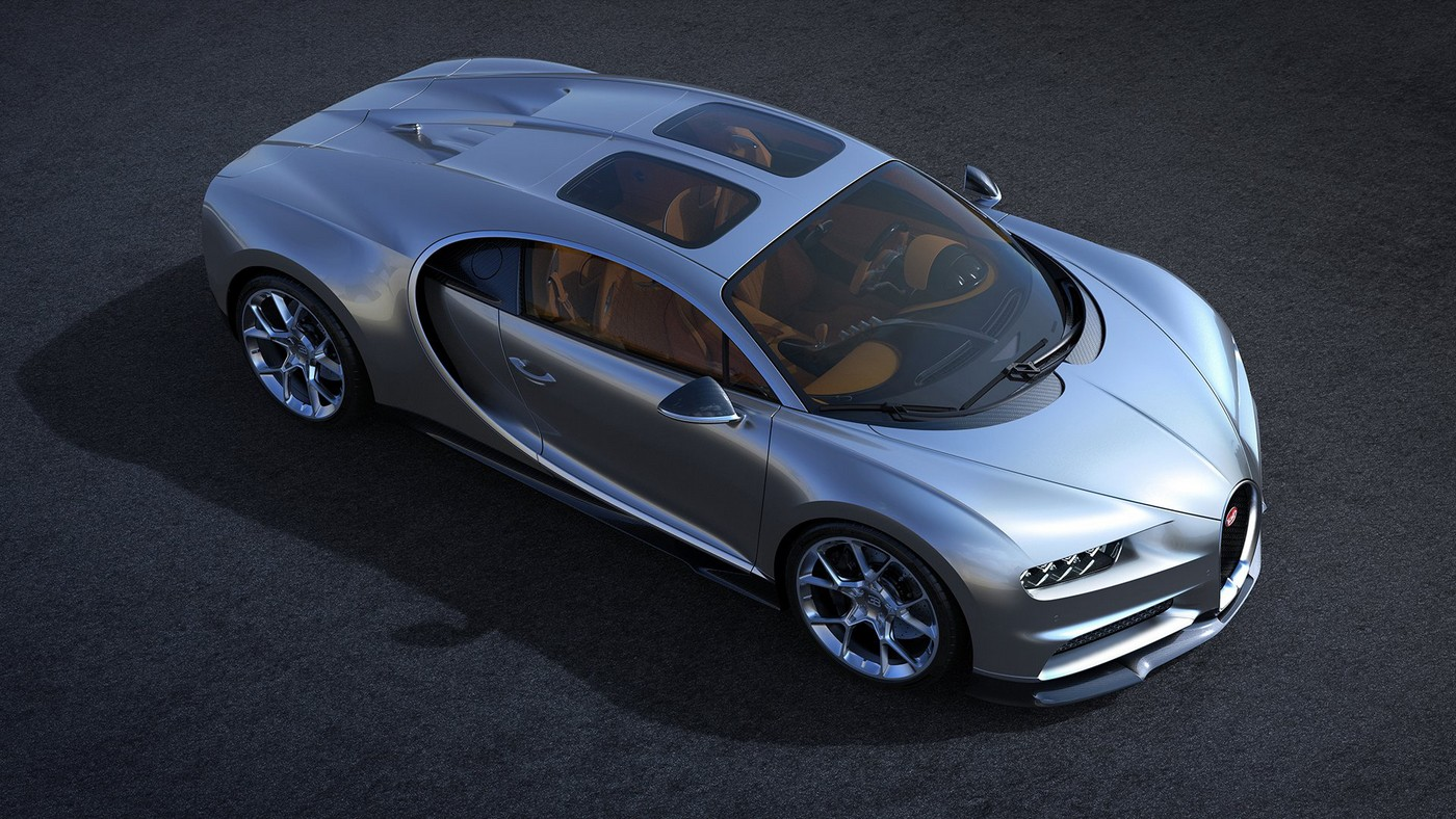 Bugatti Chiron May Get The Worlds Most Expensive Sunroof