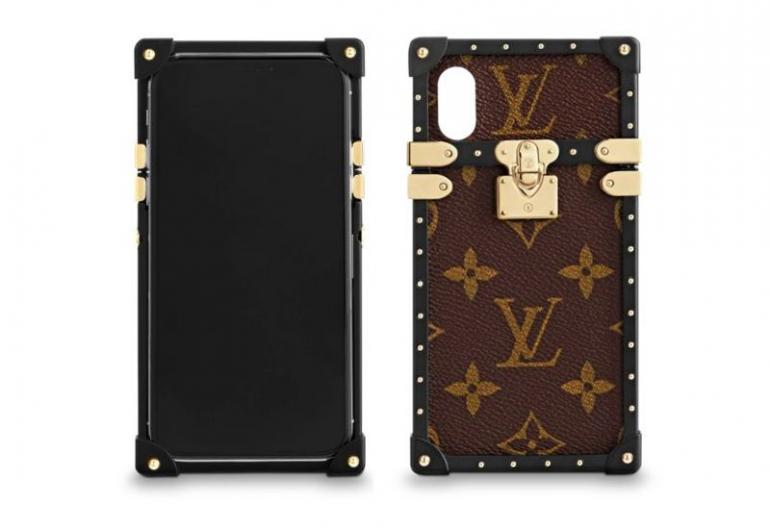 7106cbc91831 Eye Trunk For iPhone X from Louis Vuitton – price on request. Your iPhone X  can now mimic your favorite trunk thanks to this case from LV.