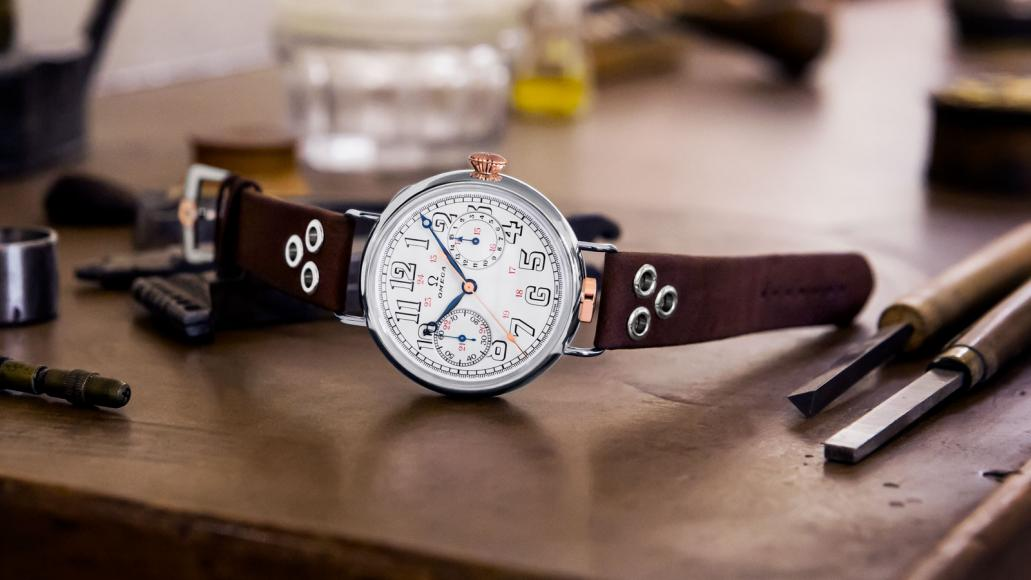 First-Omega-Wrist-Chronograph-Limited-Edition-Watch-IG-01