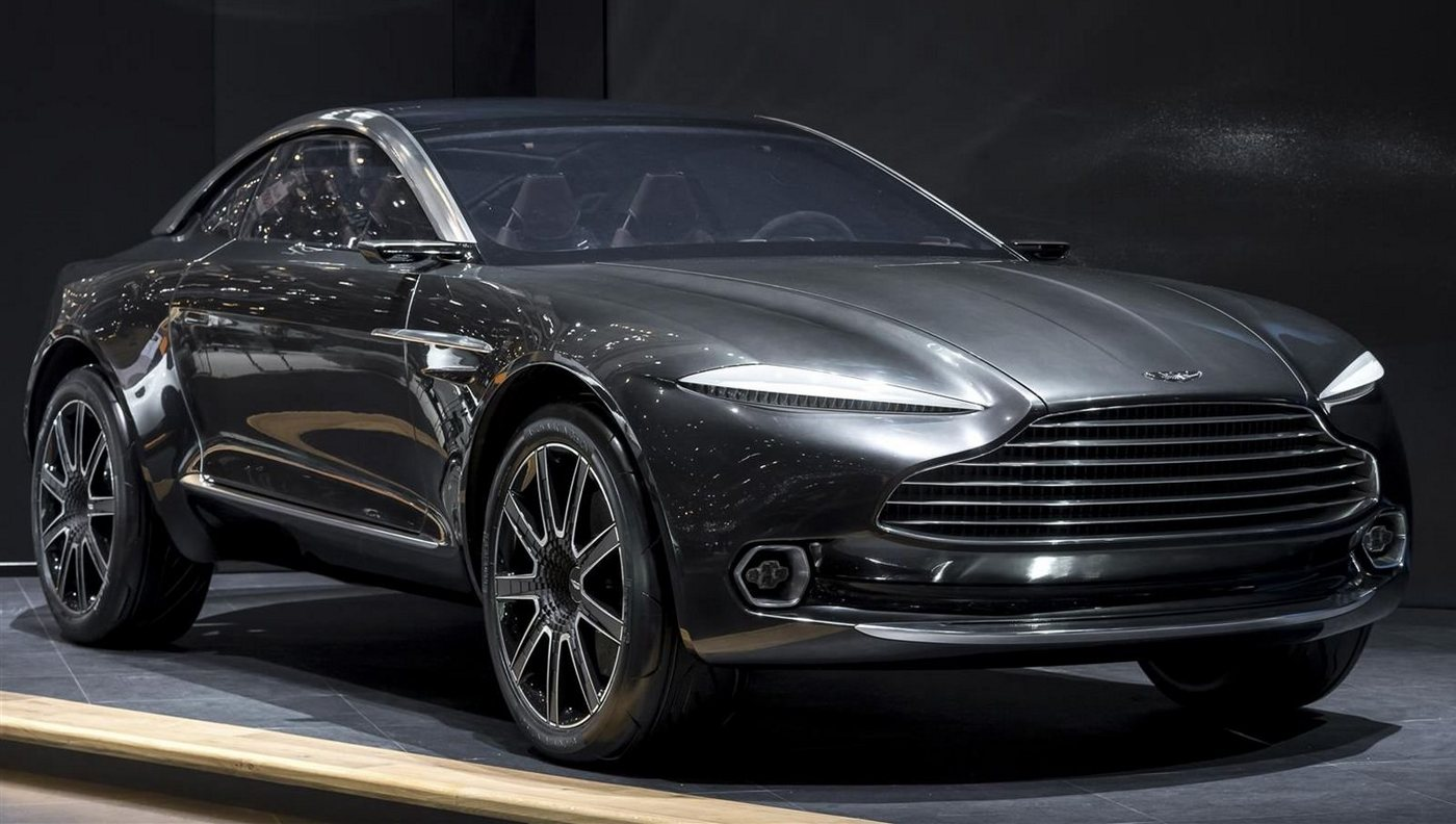 Come 2019 and Aston Martin's first SUV will be out