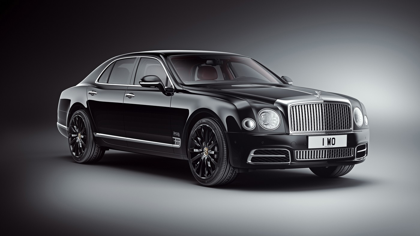 Bentley celebrates its 100th birthday with a special edition Mulsanne