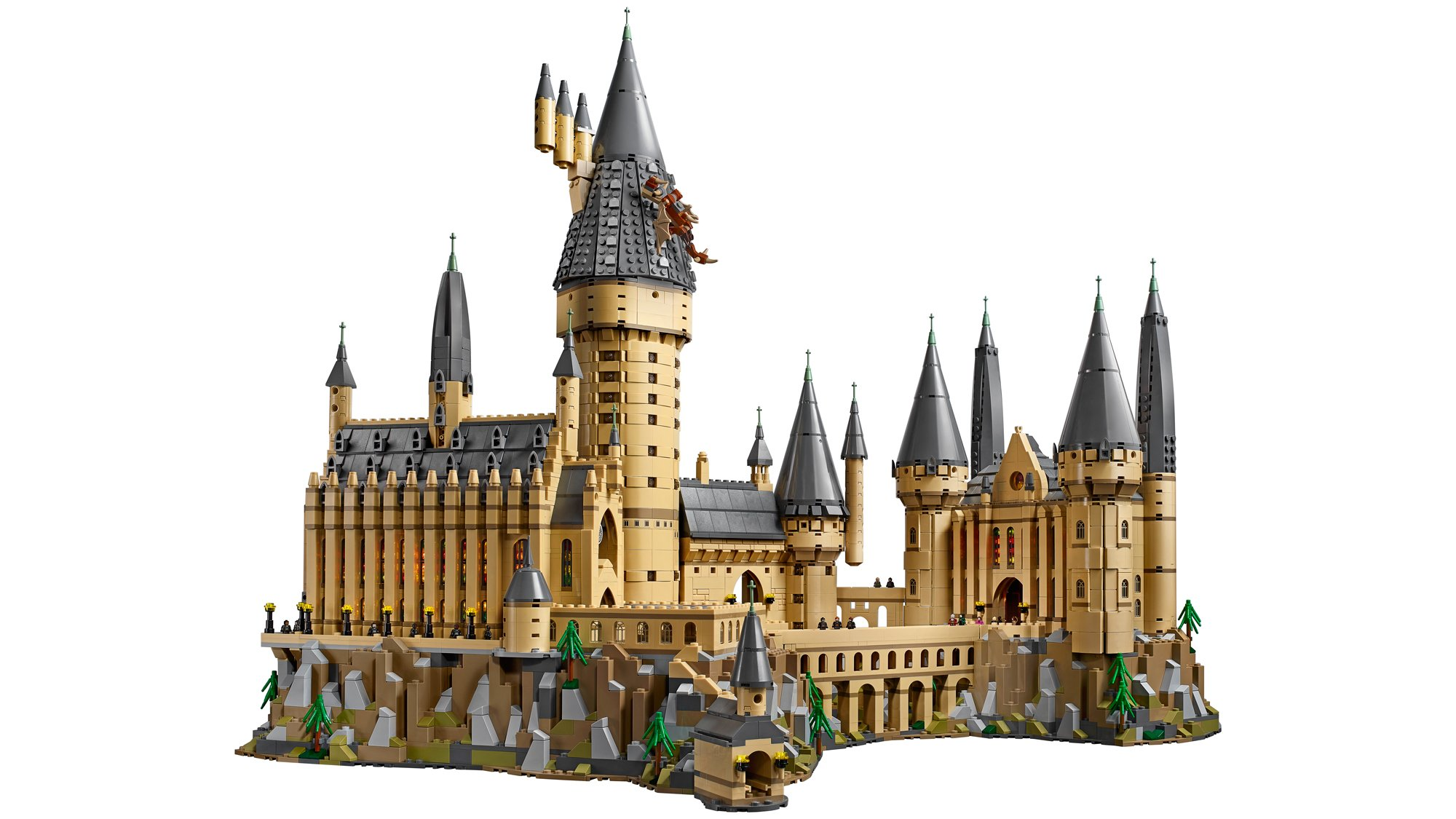A 6,000 piece Lego Hogwarts Castle is 'the' gift for a Harry Potter fan
