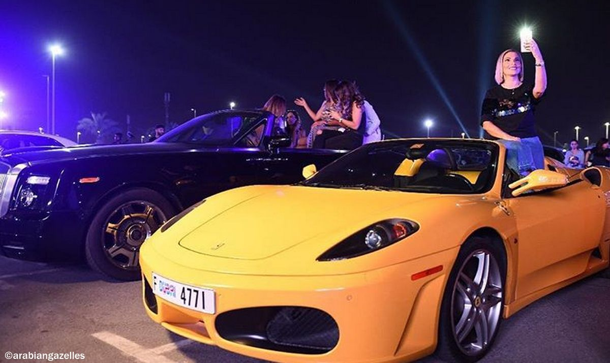 80 Women And Their Exotic Machines Dubai S First Ever