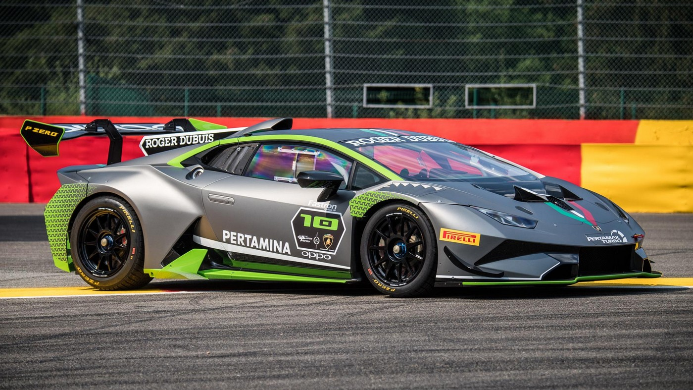 Lamborghini reveals a special edition Huracan Super Trofeo Evo to celebrate 10 years of its one-make racing series