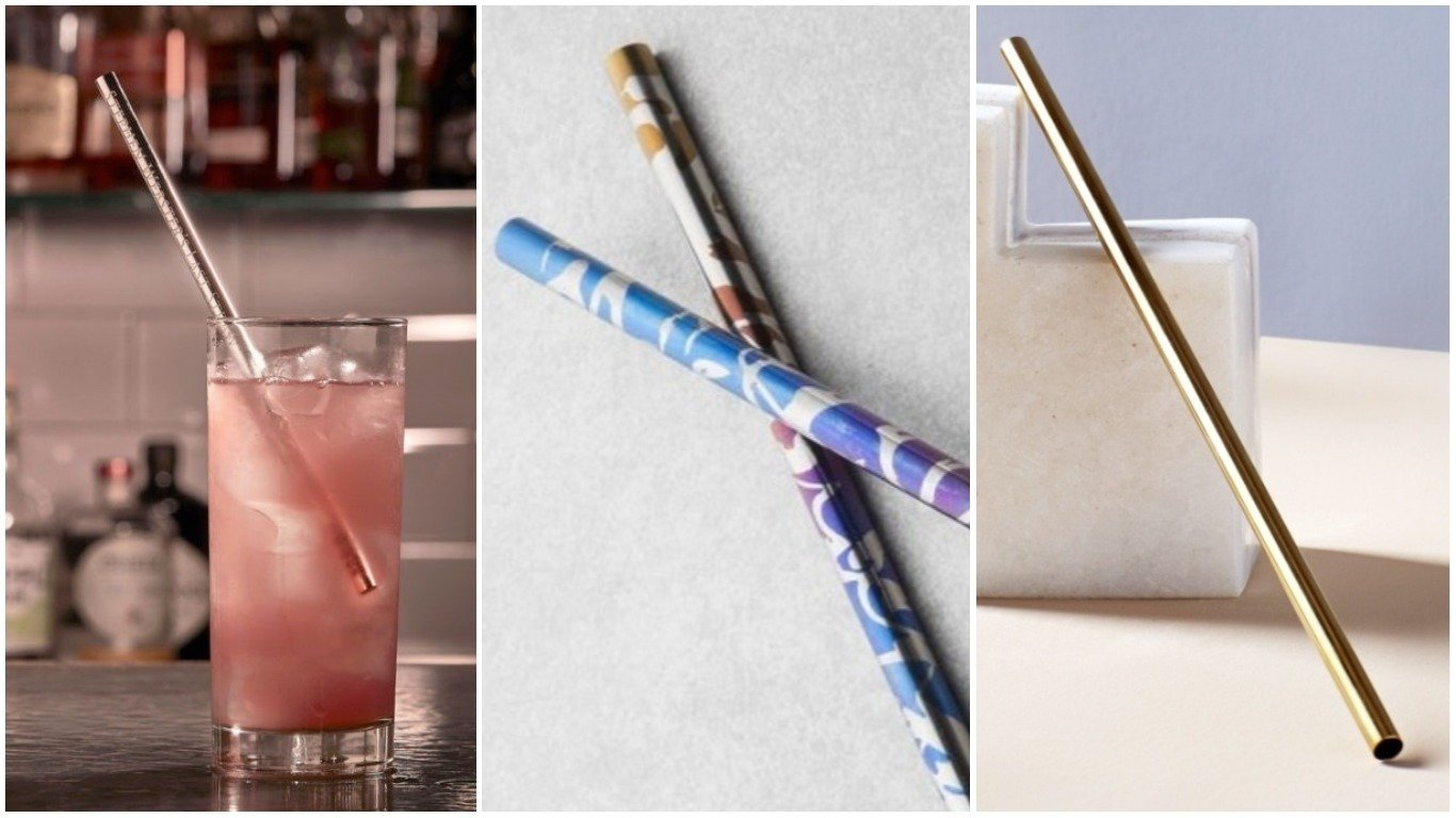 Most Expensive Cars >> Ditch the plastic - Made from gold and titanium here are five luxury straws you can buy