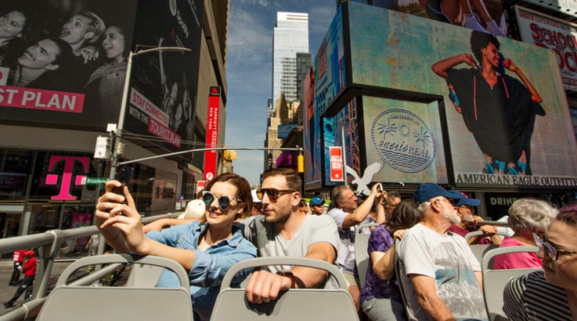 Travelling to New York for the first time? Check out TopView's exclusive bus tours around the city! -