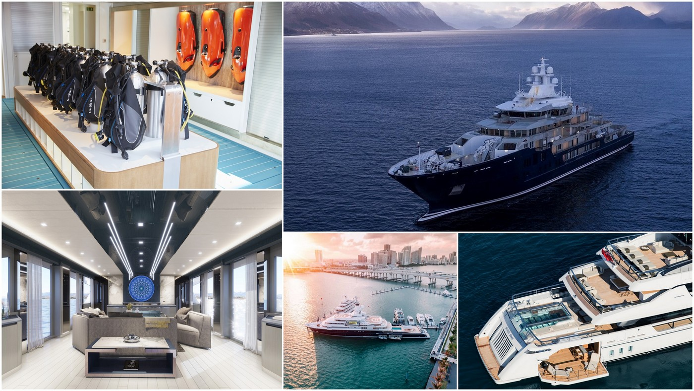 From glass bottomed pools to Anti-drone system – Here are the 10 features that make the multi-million dollar yachts truly luxurious