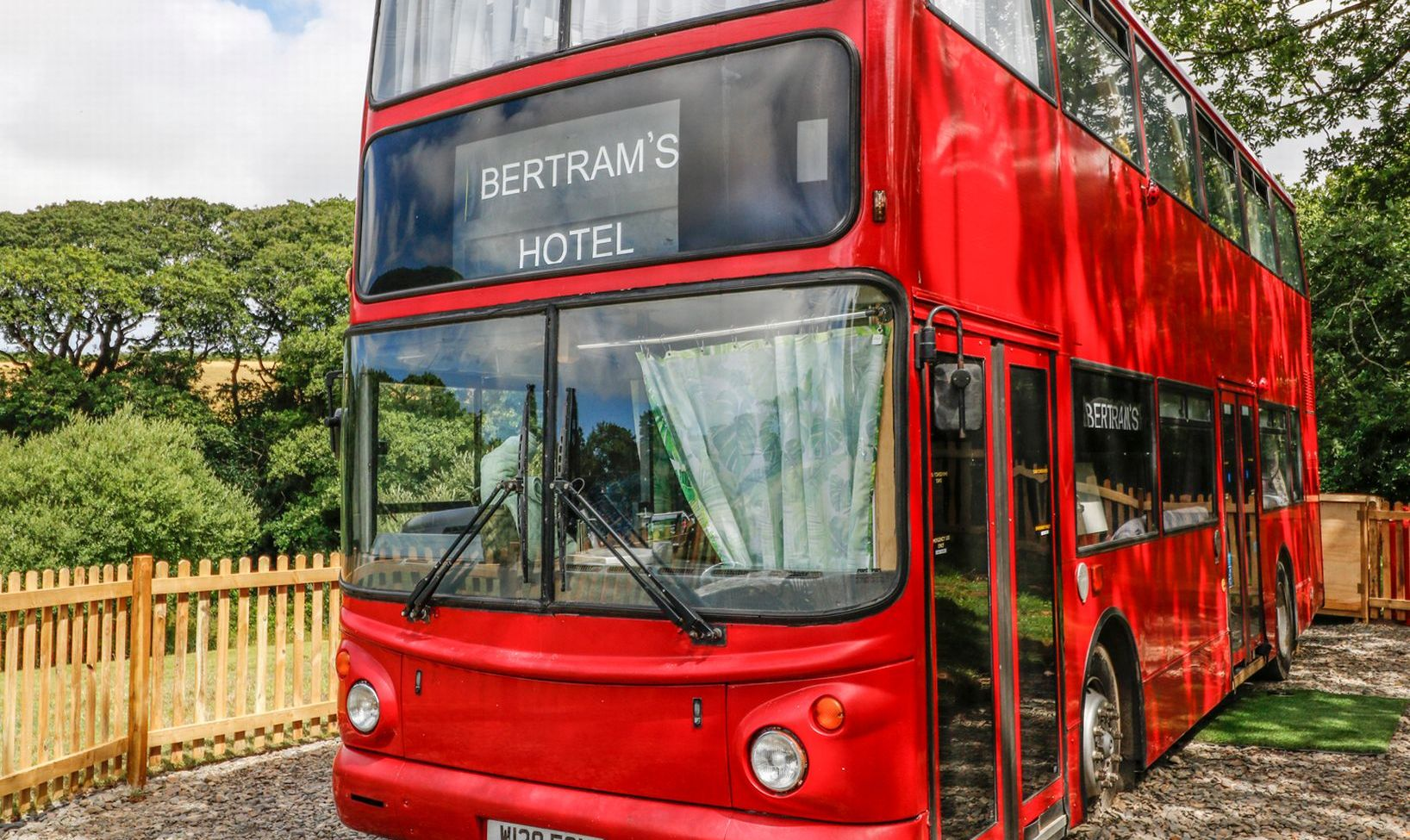 A Harry Potter Styled Double Decker Bus Has Been Converted