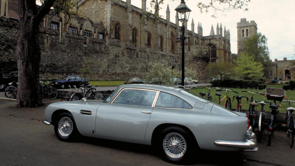 Aston Martin to build 25 Bond replica DB5 (4)