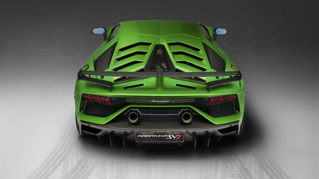 Lamborghini Aventador SVJ 1