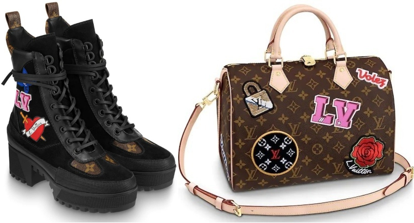 Louis Vuitton's Patches collection is