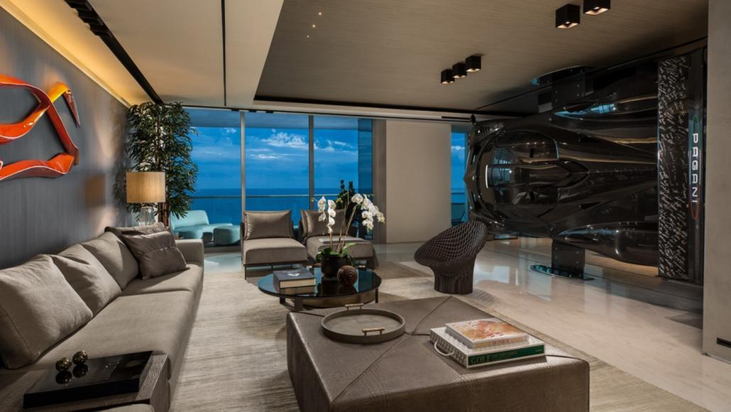 Miami condo Pagani Zonda R room divider (3)
