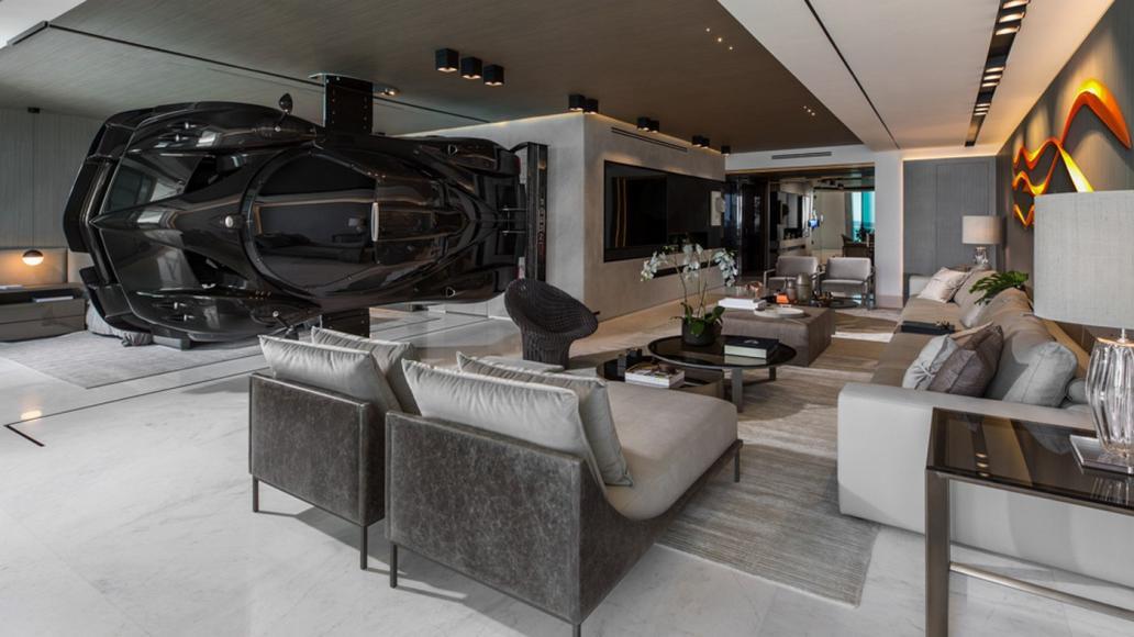 Miami condo Pagani Zonda R room divider (4)