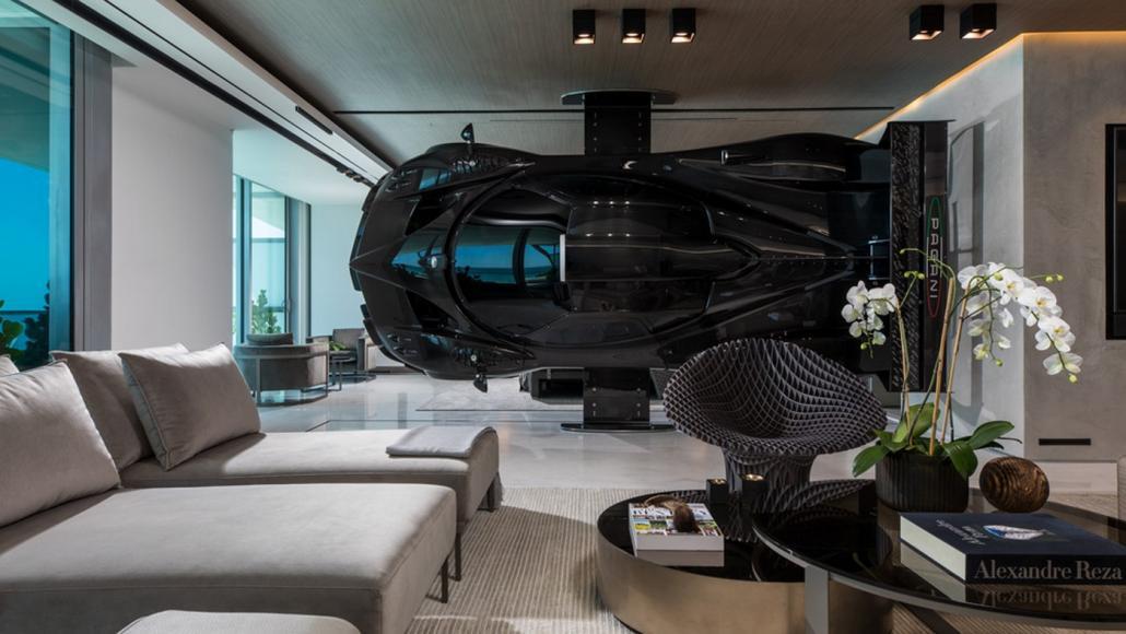 Miami condo Pagani Zonda R room divider (6)
