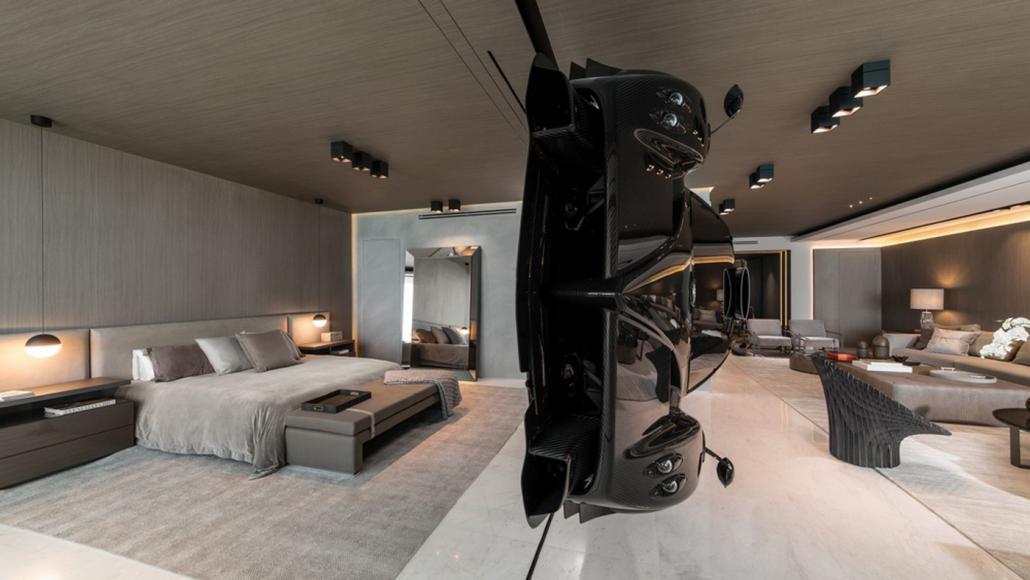 Miami condo Pagani Zonda R room divider (7)