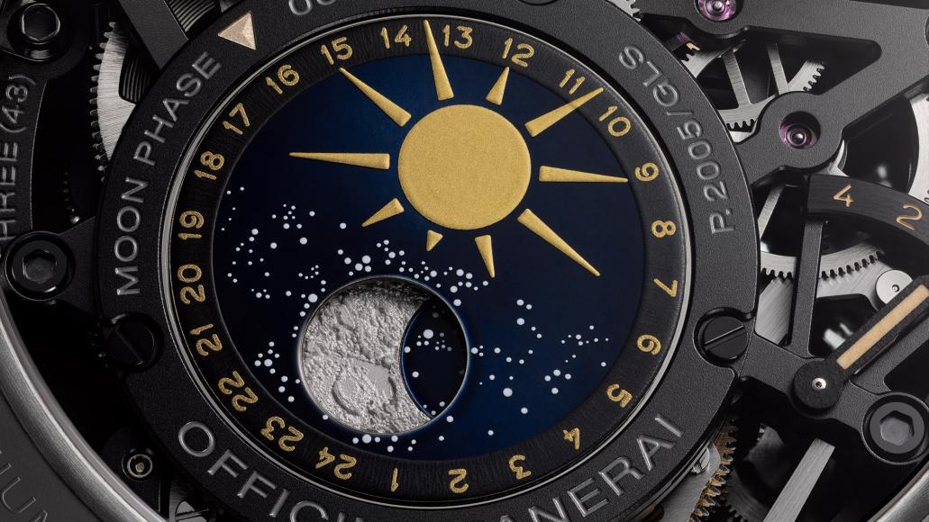 Panerai LAstronomo Luminor 1950 Tourbillon Moon Phases Equation (7)