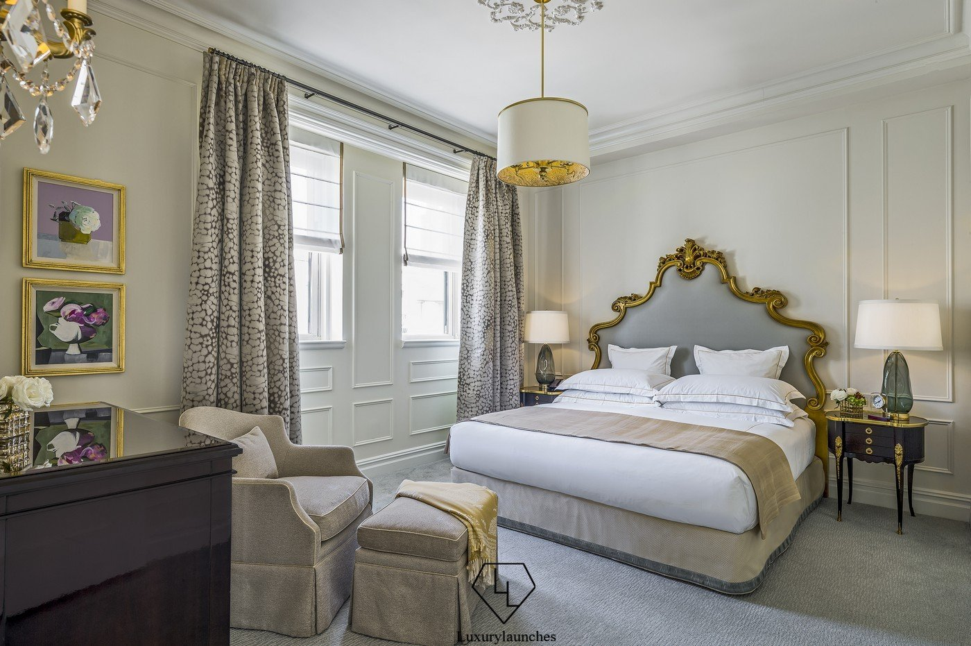 Suite Of The Week The Lavish Penthouse One Bedroom Suite King At The Plaza Hotel New York