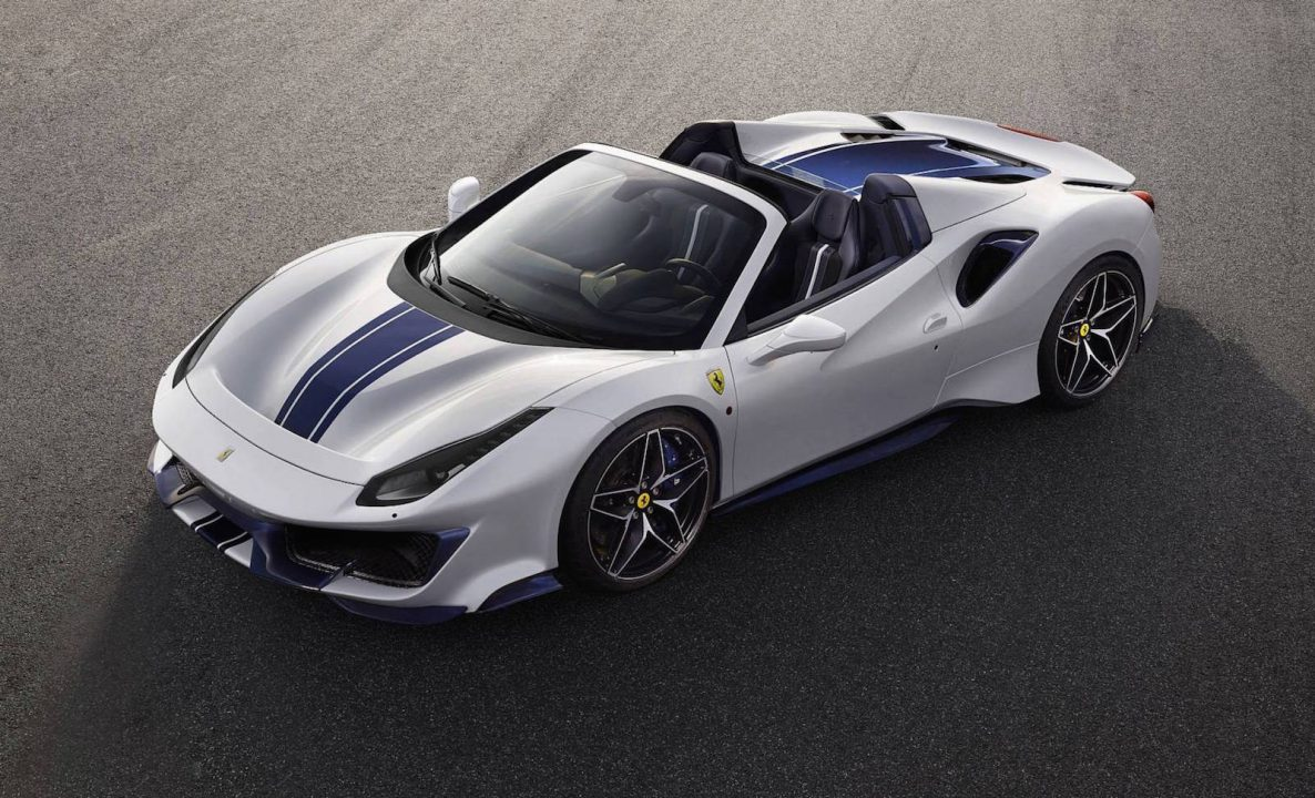 Ferrari unveils 488 Pista Spider as its most powerful V8 convertible ever