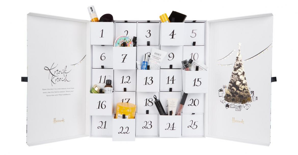 our countdown to harrods 2018 s beauty advent calender. Black Bedroom Furniture Sets. Home Design Ideas