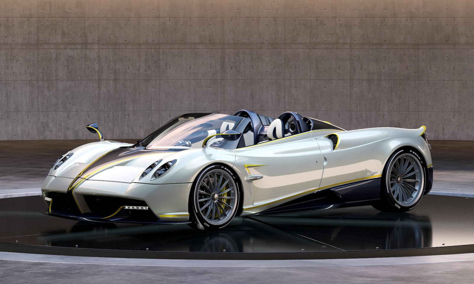 Pagani's latest special edition Huayra Roadster is named after the biggest bird of the falcon species