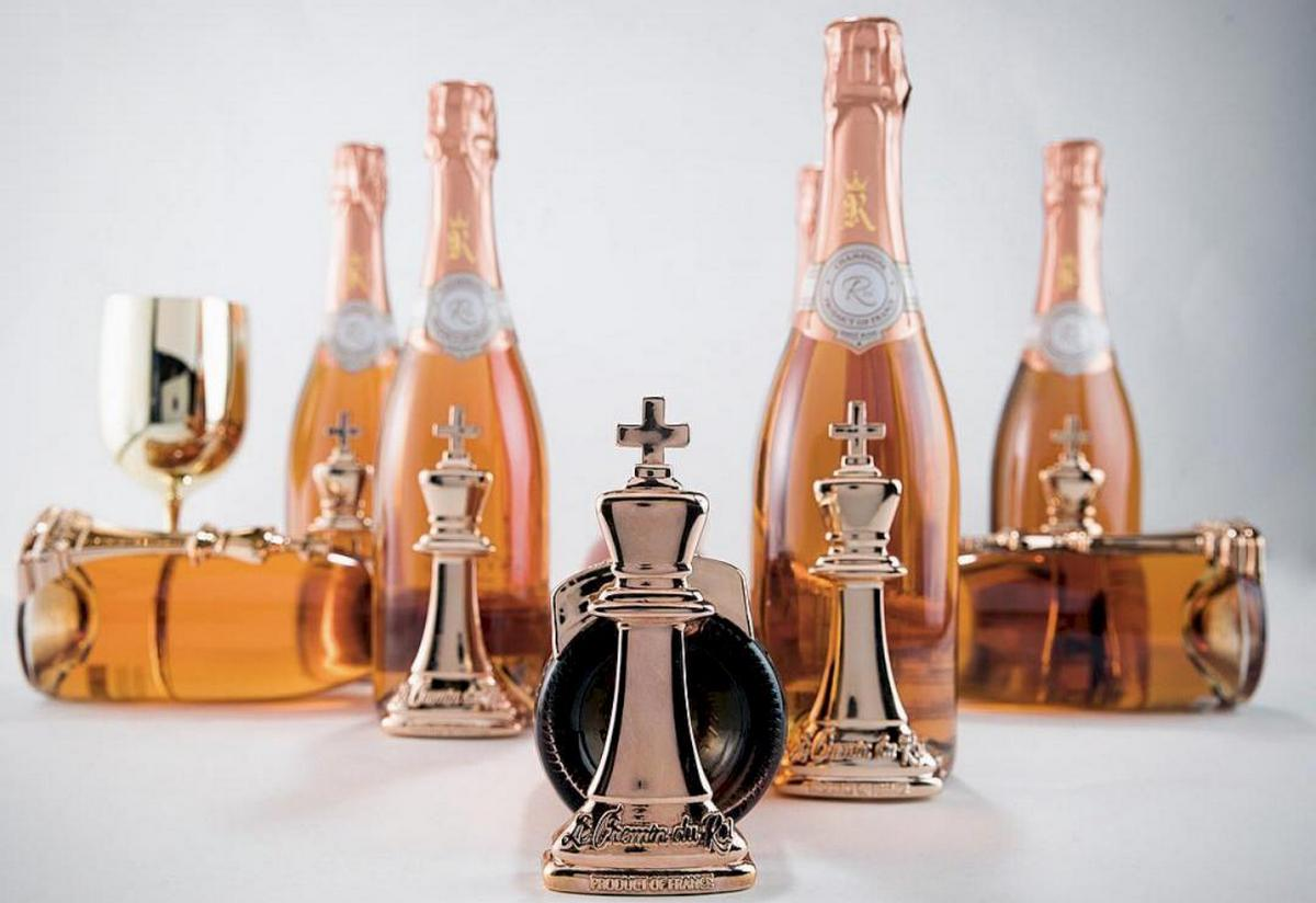 Hip Hop superstar 50 Cent launches his champagne Le Chemin du Roi