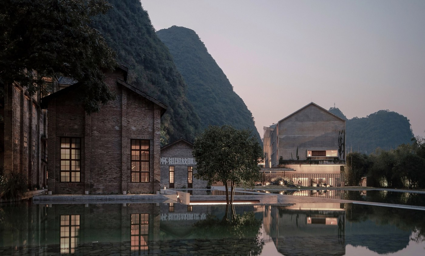 An abandoned Chinese sugar mill has been transformed into a gorgeous luxury hotel -