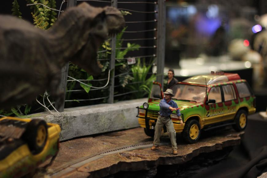 Jurassic Park Diorama for sale (1)