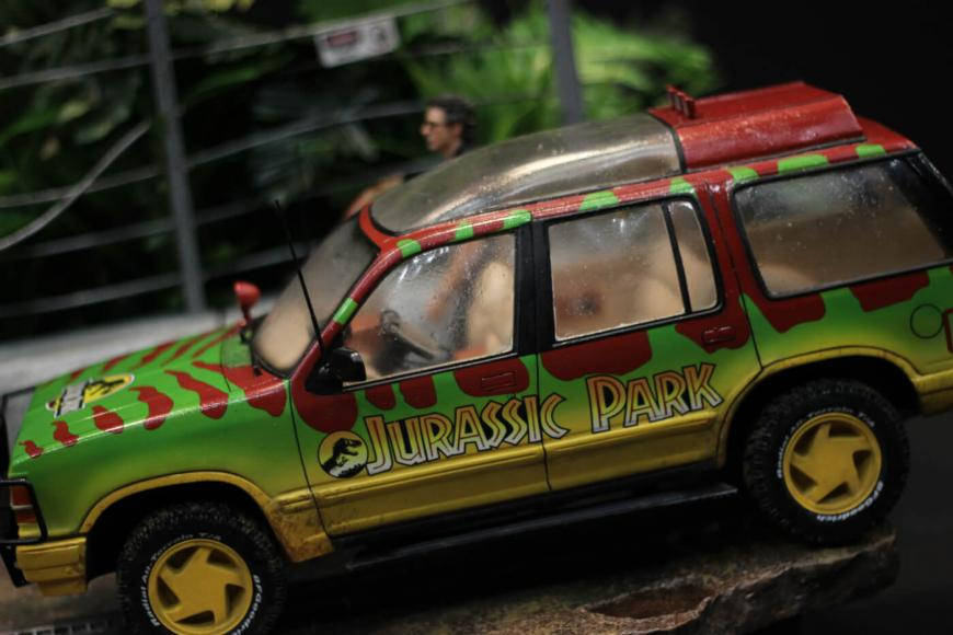 Jurassic Park Diorama for sale (6)