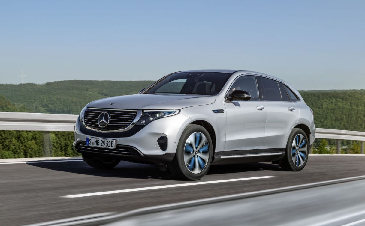 Mercedes unveils its first electric SUV with 402 ...