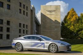 75032b9db58 A sneak peek at Aston Martin s first all-electric car – The Rapid E Sedan