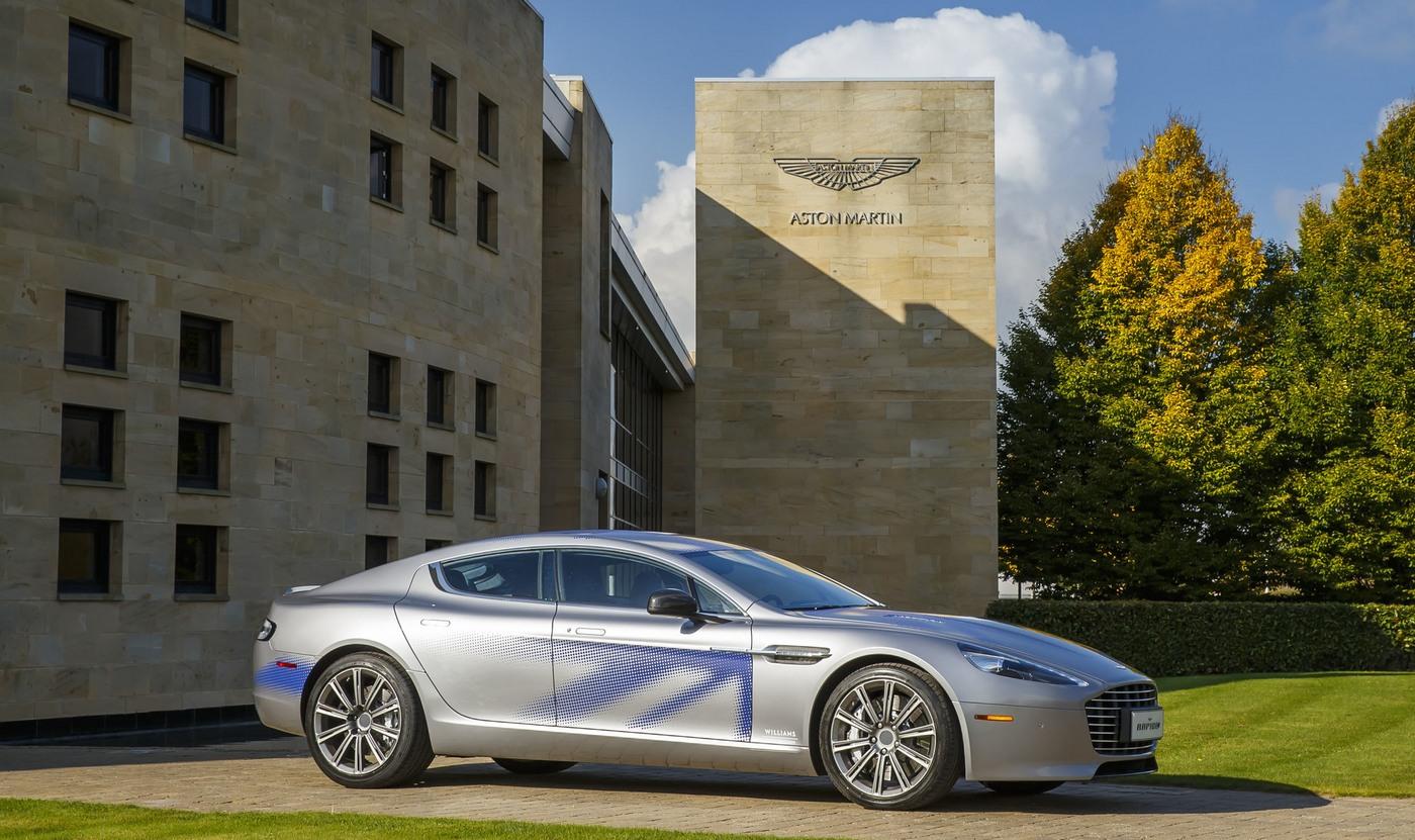 A sneak peek at Aston Martin's first all-electric car – The Rapid E Sedan