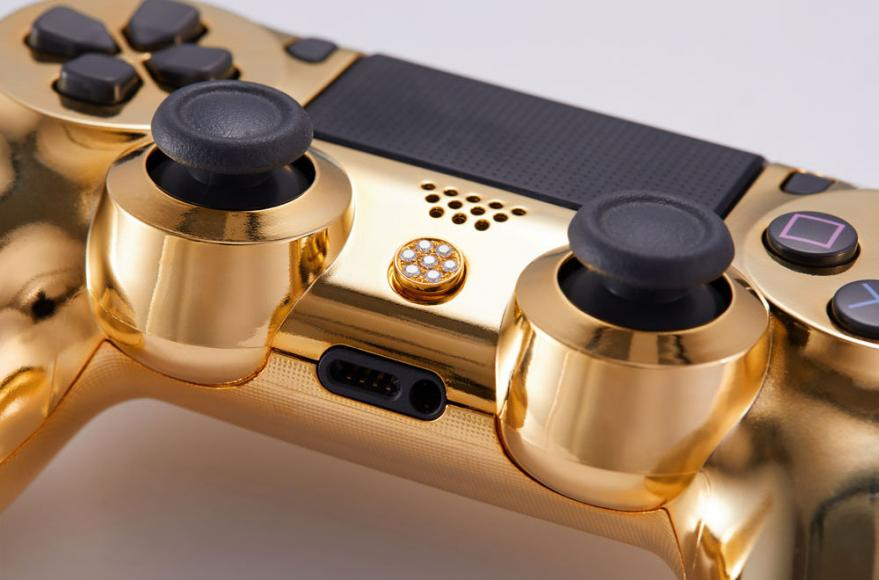 24 karat gold plated PlayStation controller (3)
