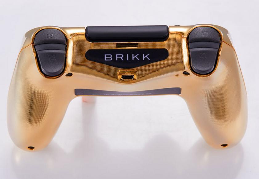 24 karat gold plated PlayStation controller (4)