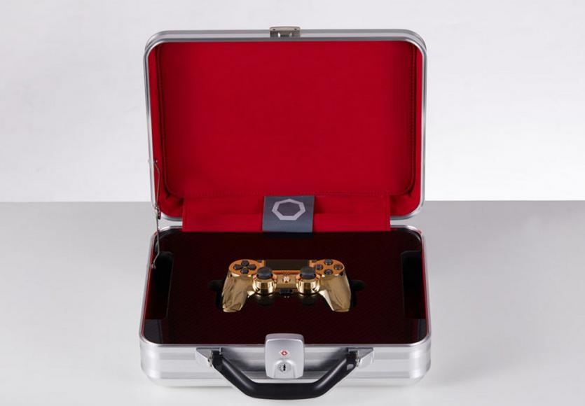 24 karat gold plated PlayStation controller (5)