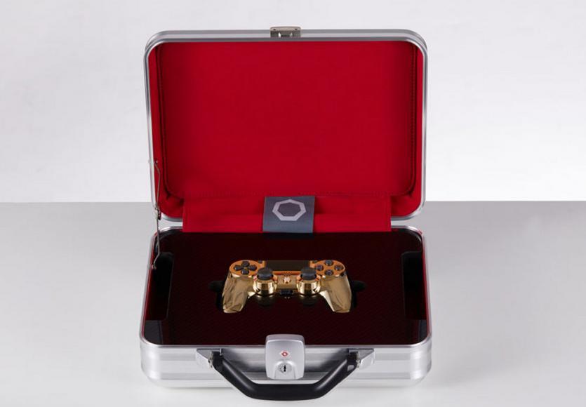 24 karat gold plated PlayStation controller (5)
