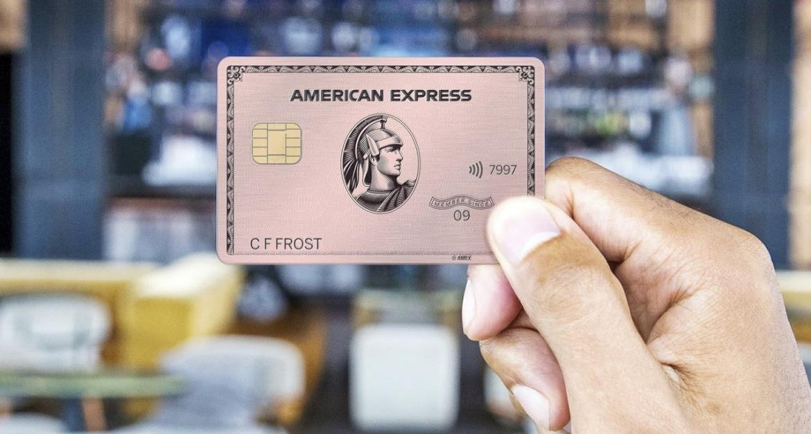 American Express has introduced a limited edition Pink Gold