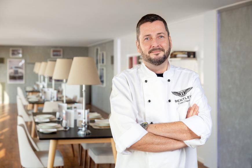 Bentley Peak of Luxury_Chef Colin Clague 1