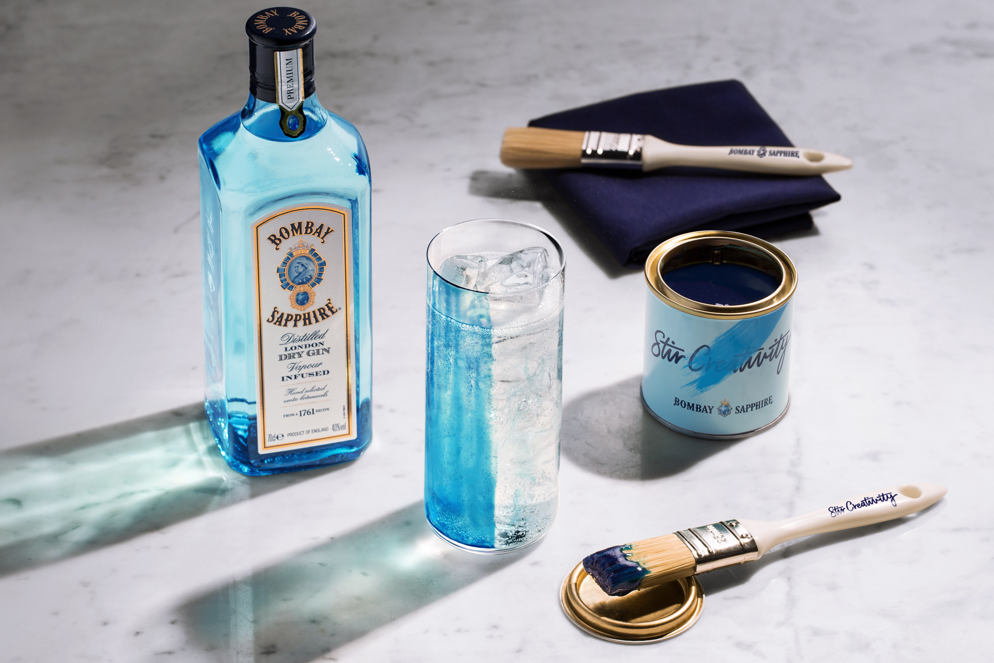 Bombay Sapphire Unveils Flavored Color Paint For Your