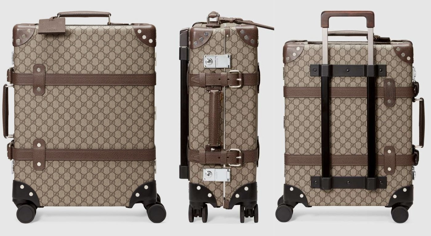 2cfaa00a870 Gucci collaborates with Globe Trotter to create a photo-ready luggage line