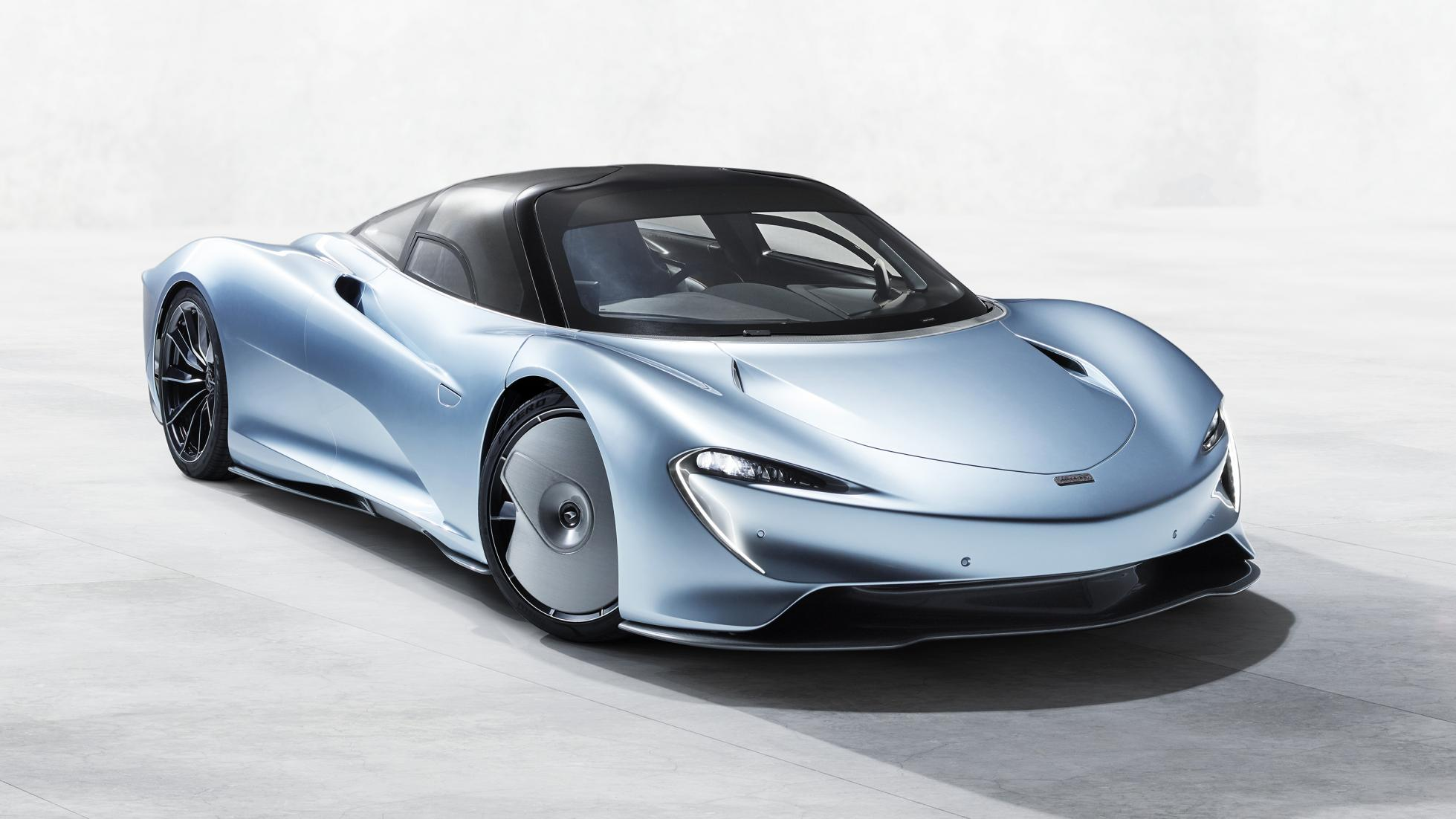 The $2.25 million Speedtail is McLaren's fastest ever roadcar with 250mph top speed