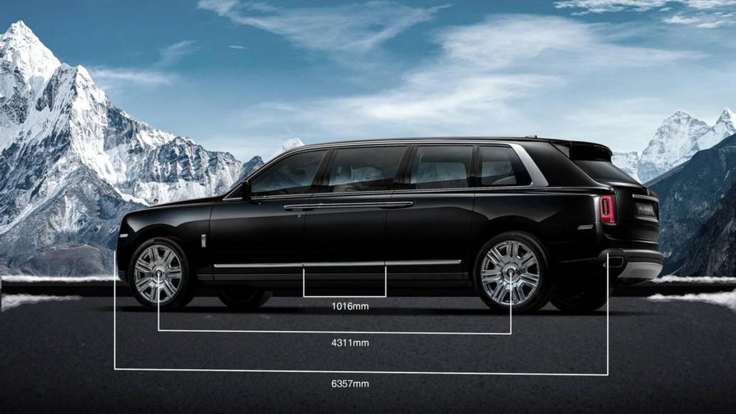 Rolls-Royce Cullinan limo (1)