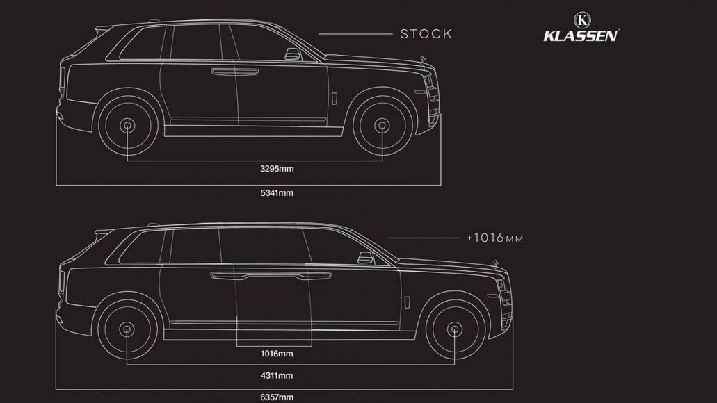 Rolls-Royce Cullinan limo (4)