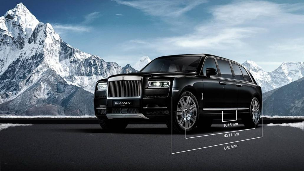 Rolls-Royce Cullinan limo (5)