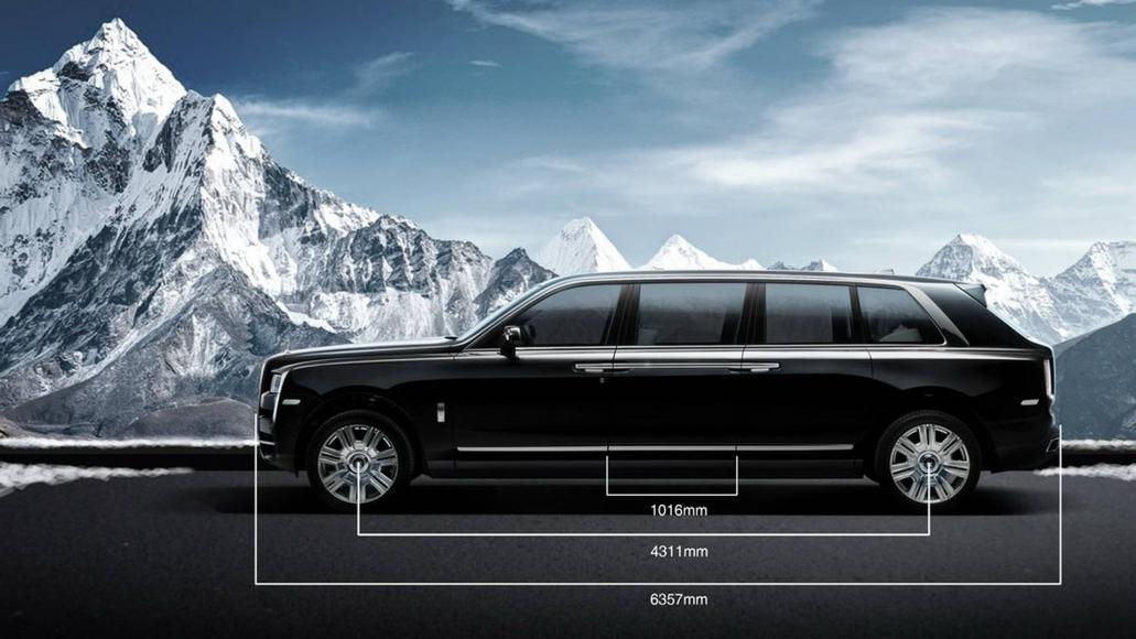 Rolls-Royce Cullinan limo (6)