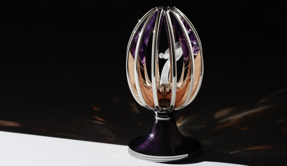 Spirit of Ecstasy Faberge Egg (1)