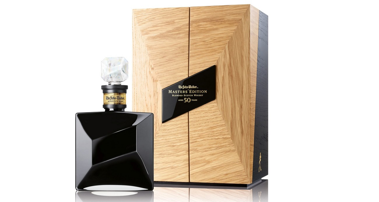 $25,000 for a bottle - Johnnie Walker launches its first 50-year-old whisky -